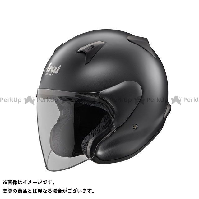送料無料 アライ ヘルメット Arai ジェットヘルメット MZ-F フラットブラック 55-56cm