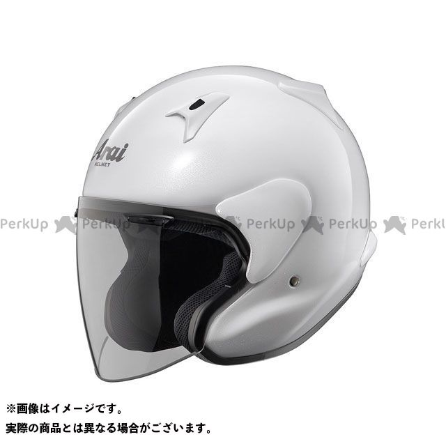 送料無料 アライ ヘルメット Arai ジェットヘルメット MZ-F XO グラスホワイト 63-64cm