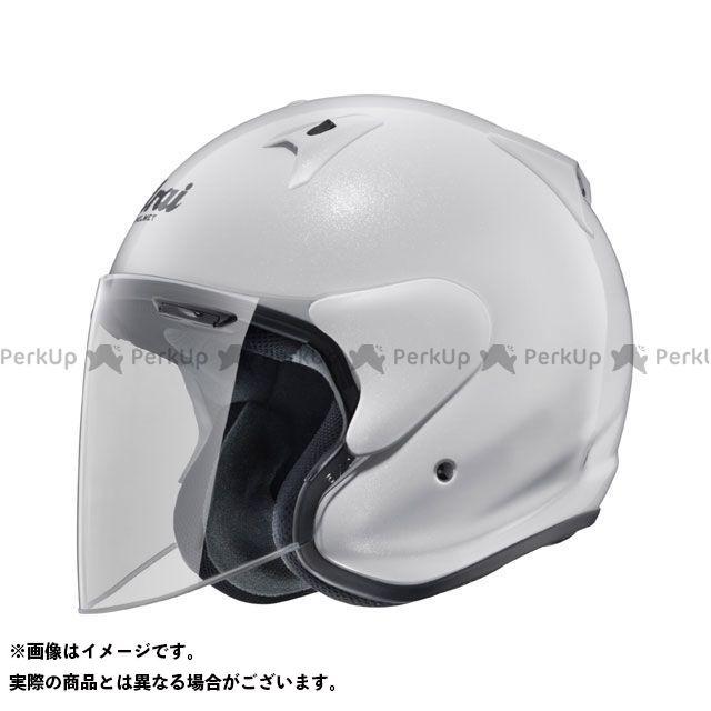 送料無料 アライ ヘルメット Arai ジェットヘルメット SZ-G グラスホワイト 54cm