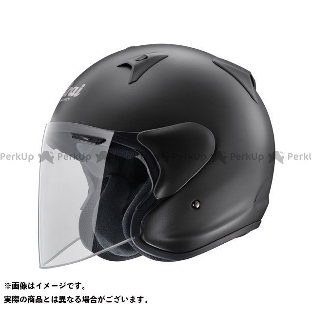 送料無料 アライ ヘルメット Arai ジェットヘルメット SZ-G フラットブラック 57-58cm