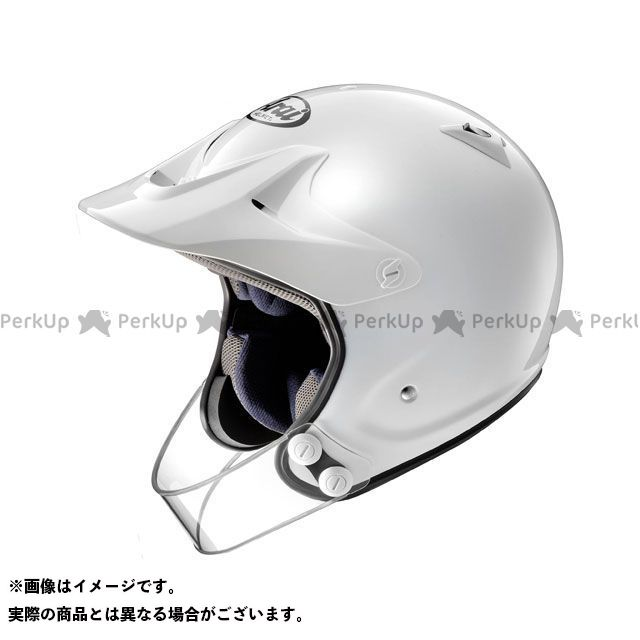 送料無料 アライ ヘルメット Arai オフロードヘルメット HYPER-T PRO(ハイパーT・プロ) ホワイト 55-56cm