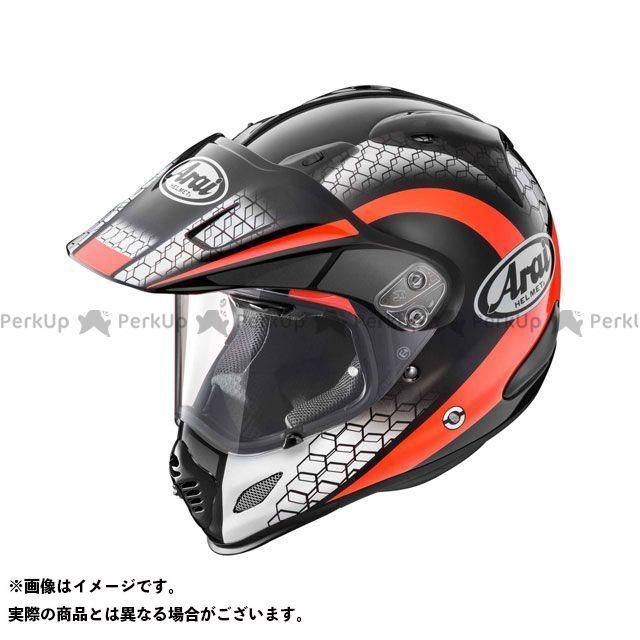 送料無料 アライ ヘルメット Arai オフロードヘルメット TOUR CROSS 3 MESH(ツアークロス3・メッシュ) レッド 59-60cm