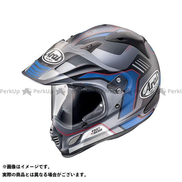 送料無料 アライ ヘルメット Arai オフロードヘルメット TOUR CROSS 3 VISION(ツアークロス3・ビジョン) グレー 55-56cm