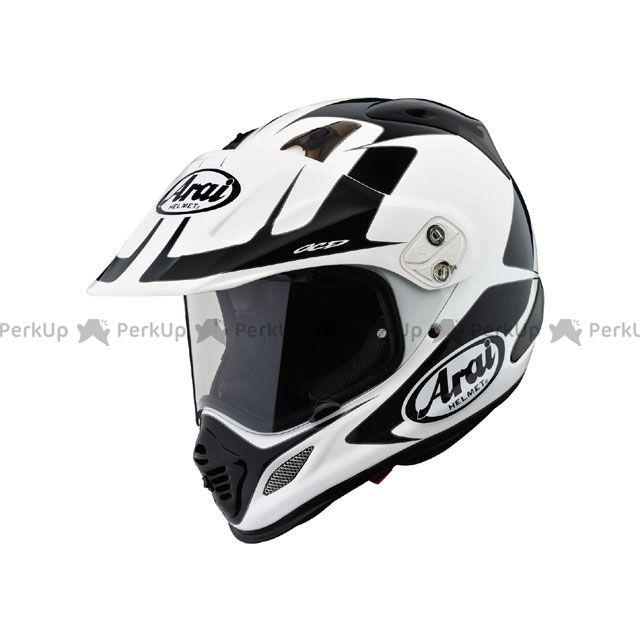 送料無料 アライ ヘルメット Arai オフロードヘルメット 【東単オリジナル】 TOUR CROSS 3 EXPLORER(ツアークロス3 エクスプローラ) ホワイト 61-62cm