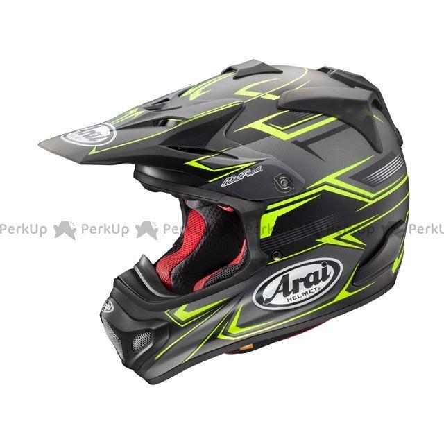 送料無料 アライ ヘルメット Arai オフロードヘルメット V-CROSS 4 SLY(V-クロス4・スライ) イエロー 61-62cm