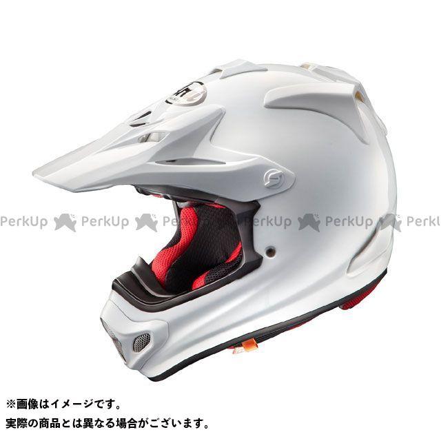 送料無料 アライ ヘルメット Arai オフロードヘルメット V-CROSS 4(V-クロス4) ホワイト 57-58cm