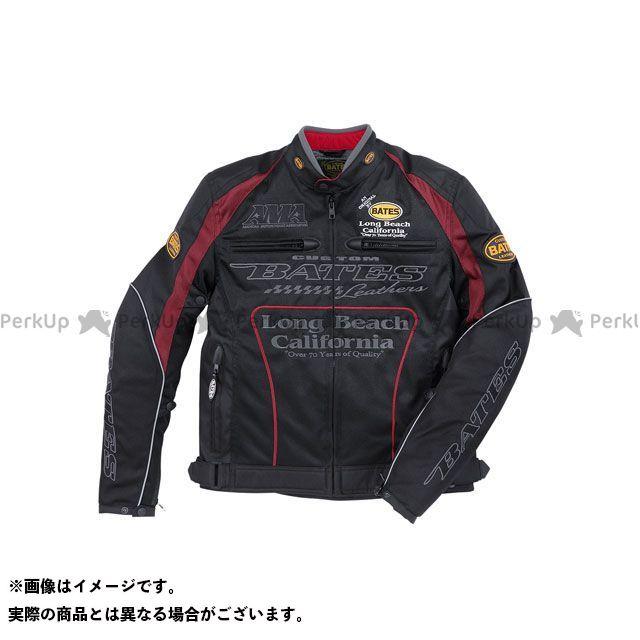BATES ジャケット 2019春夏モデル BJ-M1911SPL 2Wayメッシュジャケット(レッド) サイズ:XXL ベイツ