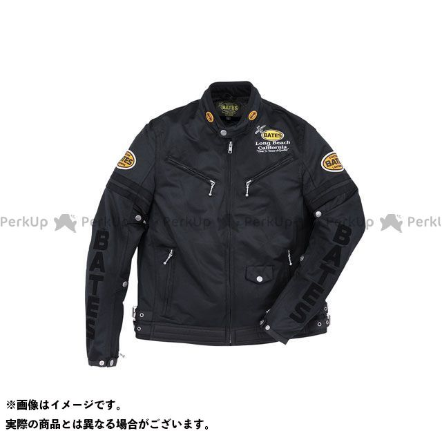 BATES ジャケット 2019春夏モデル BJ-M1914TT メッシュジャケット(ブラック) サイズ:L ベイツ