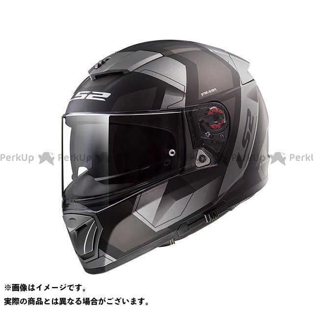 エルエスツー フルフェイスヘルメット BREAKER(マットブラックチタニウム) サイズ:L LS2 HELMETS