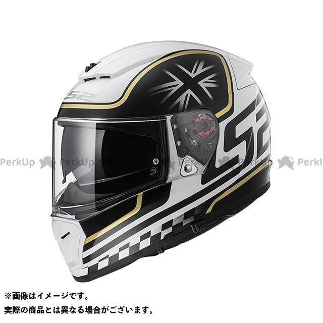 エルエスツー フルフェイスヘルメット BREAKER(ホワイトブラック) サイズ:XL LS2 HELMETS