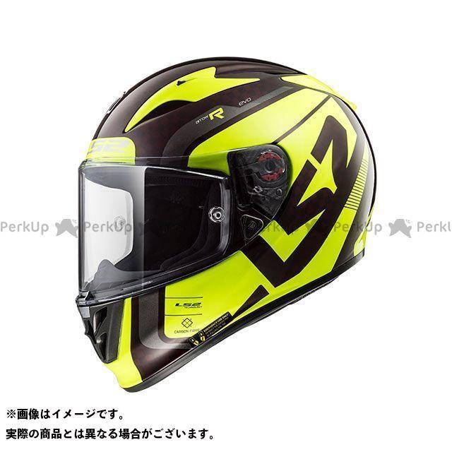 送料無料 LS2 HELMETS エルエスツー フルフェイスヘルメット ARROW C EVO(ワインベリーイエロー) L