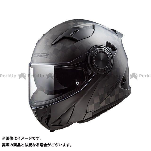 送料無料 LS2 HELMETS エルエスツー システムヘルメット(フリップアップ) VORTEX(カーボン) M