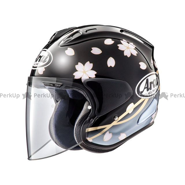 アライ ヘルメット Arai ジェットヘルメット 【東単オリジナル】 VZ-RAM(VZ-ラム) サクラ ブラック 61-62cm