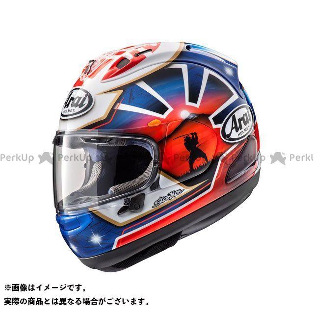 アライ ヘルメット Arai フルフェイスヘルメット RX-7X PEDROSA SAMURAI SPIRIT BLUE(ペドロサ サムライ スピリッド青) 55-56cm