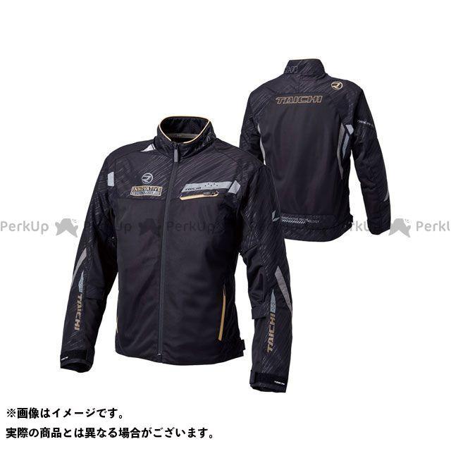 RSタイチ アールエスタイチ ジャケット バイクウェア アールエスタイチ ジャケット RSJ325 レーサー メッシュ ジャケット(ブラック/ゴールド) M RSタイチ