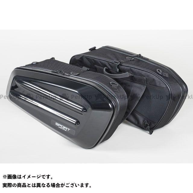【エントリーで更にP5倍】TANAX ツーリング用バッグ MOTO FIZZ スポルトシェルケース カラー:ブラック タナックス