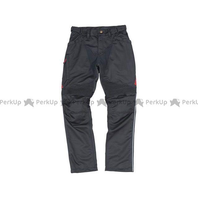 送料無料 イエローコーン YeLLOW CORN パンツ 2019春夏モデル YP-9130 メッシュパンツ(ブラック/レッド) LL