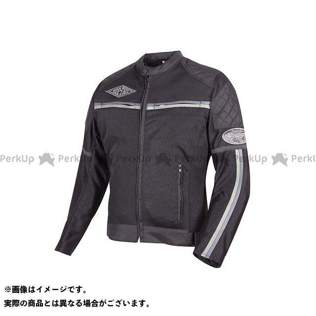 デグナー ジャケット 18SJ-1 メンズメッシュジャケット(グレー) サイズ:L DEGNER