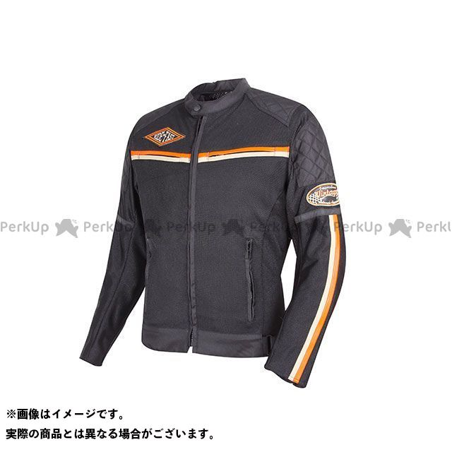 デグナー ジャケット 18SJ-1 メンズメッシュジャケット(オレンジ) サイズ:L DEGNER