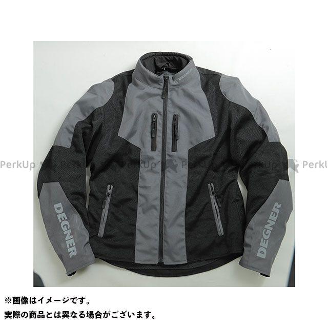 デグナー ジャケット 19SJ-2 メッシュジャケット(ブラック/グレー) サイズ:2XL DEGNER