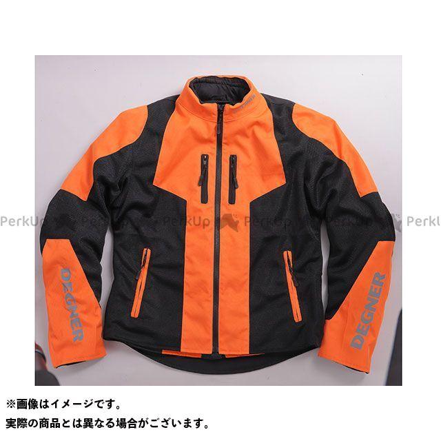 デグナー ジャケット 19SJ-2 メッシュジャケット(ブラック/オレンジ) サイズ:XL DEGNER
