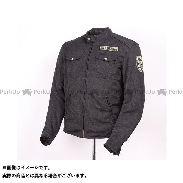 デグナー ジャケット 18SJ-2 メンズフルメッシュジャケット(ブラック) サイズ:XL DEGNER