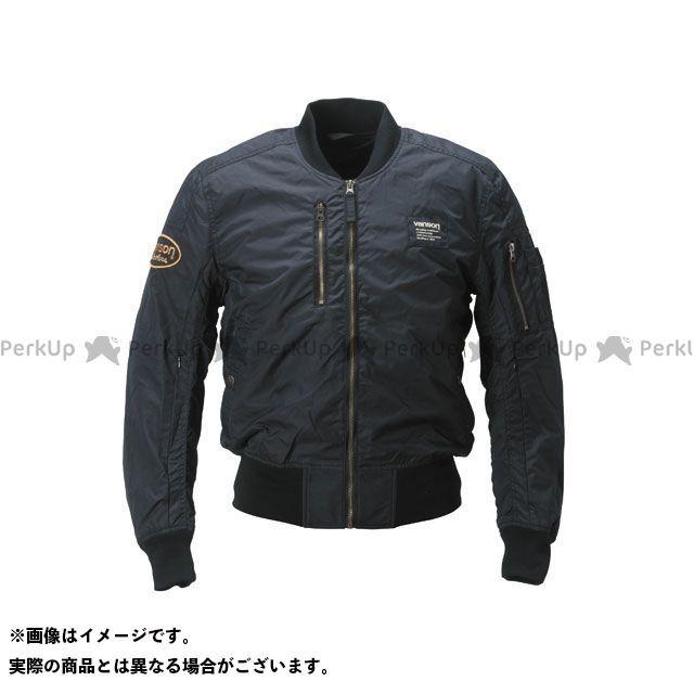 バンソン ジャケット 2019春夏モデル VS19103S ナイロンジャケット(ブラック) サイズ:XL VANSON