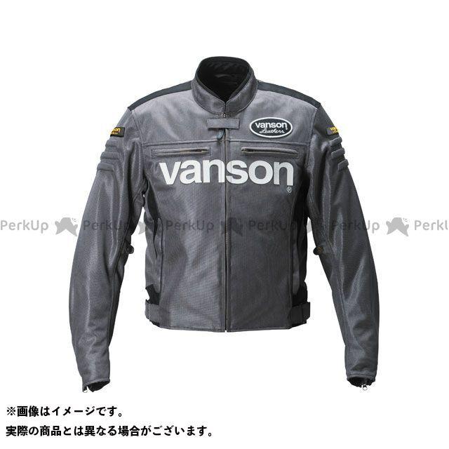 バンソン ジャケット 2019春夏モデル VS19107S メッシュジャケット(ガンメタル) サイズ:XL VANSON