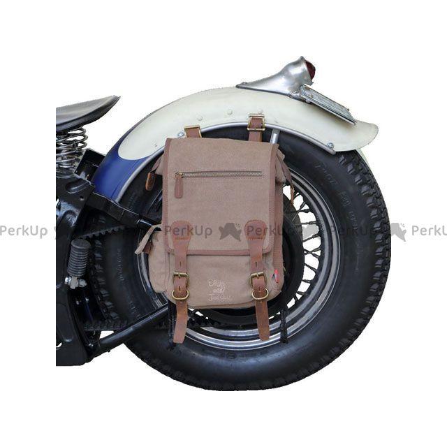 【エントリーで更にP5倍】ジャムズゴールド ツーリング用バッグ JGB-795 SADDLE BAG(ブラウン) JAMSGOLD