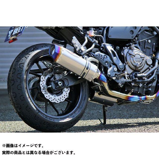 ビートジャパン XSR700 マフラー本体 NASSERT Evolution Type II フルエキゾーストマフラー(クリアチタン) BEET