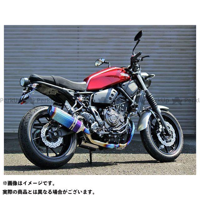 【エントリーで最大P21倍】ビートジャパン XSR700 マフラー本体 NASSERT Evolution Type II フルエキゾーストマフラー(ブルーチタン) BEET