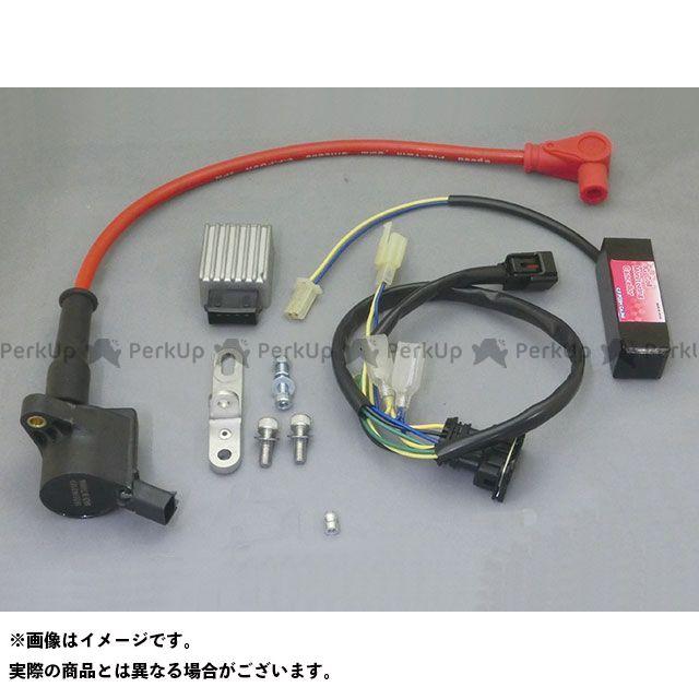 C.F.POSH モンキー125 電装スイッチ・ケーブル スーパーIGコイルキット スピードプロツイン(レッド)付  クリエイティブ・ファクトリー ポッシュ
