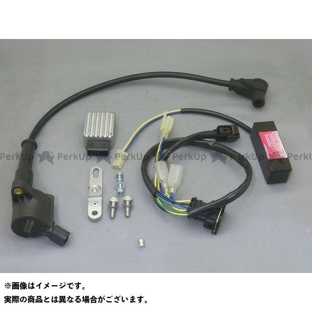 C.F.POSH モンキー125 電装スイッチ・ケーブル スーパーIGコイルキット スピードプロツイン(ブラック)付 クリエイティブ・ファクトリー ポッシュ