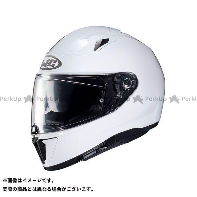 送料無料 HJC エイチジェイシー フルフェイスヘルメット HJH169 i70 ソリッド(セミフラットホワイト) L/59-60cm