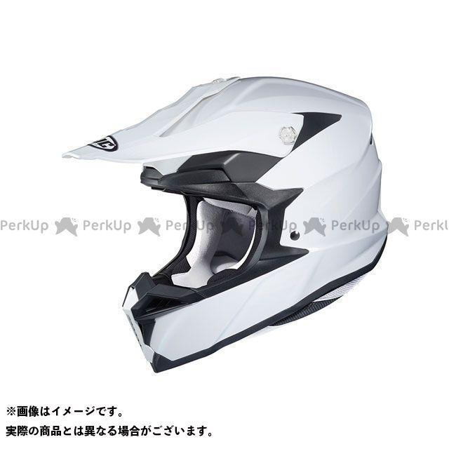 エイチジェイシー オフロードヘルメット HJH176 i50 ソリッド(ホワイト) サイズ:XL/61-62cm未満 HJC