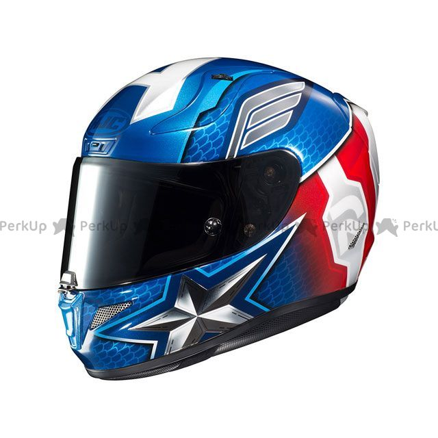 送料無料 HJC エイチジェイシー フルフェイスヘルメット HJH179 MARVEL RPHA 11 CAPTAIN AMERICA XL/61-62cm未満