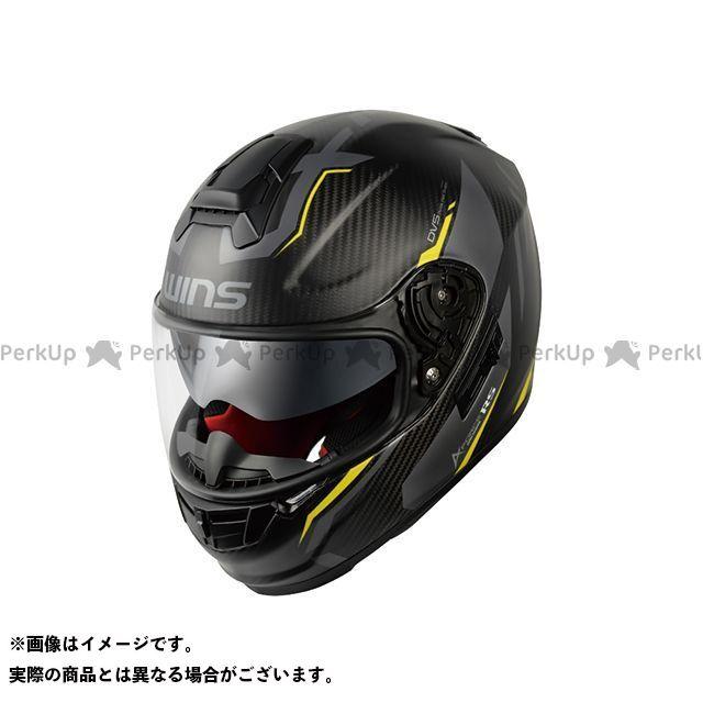 WINS ウインズ フルフェイスヘルメット A-FORCE RS FLASH(マットカーボン×ネオングリーン) M-Slim