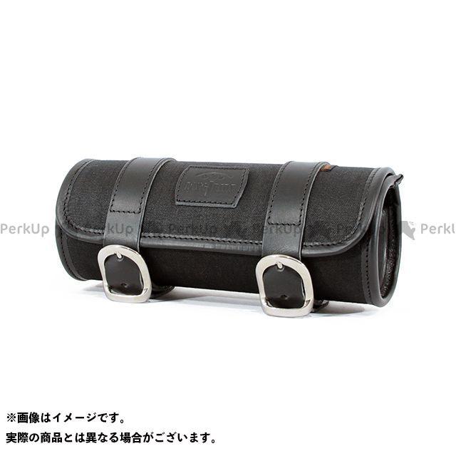 【エントリーで更にP5倍】LONGRIDE ツーリング用バッグ ヘリテージ ツールバッグ・ラウンド 2L(ブラック) ロングライド