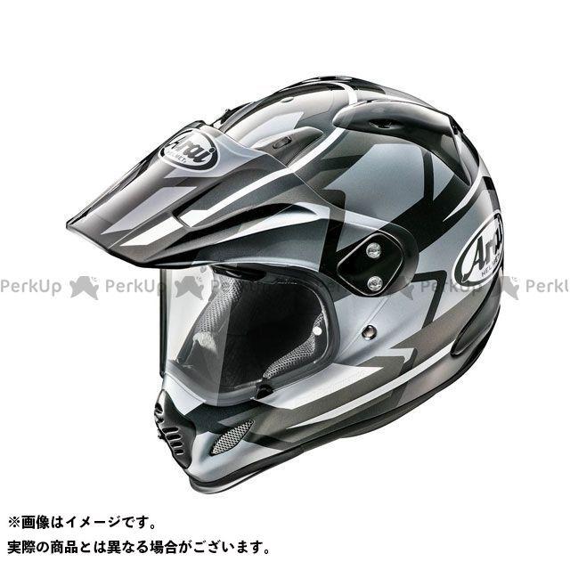送料無料 アライ ヘルメット Arai オフロードヘルメット TOUR CROSS 3 DEPARTURE(ツアークロス3・デパーチャー) グレー 57-58cm