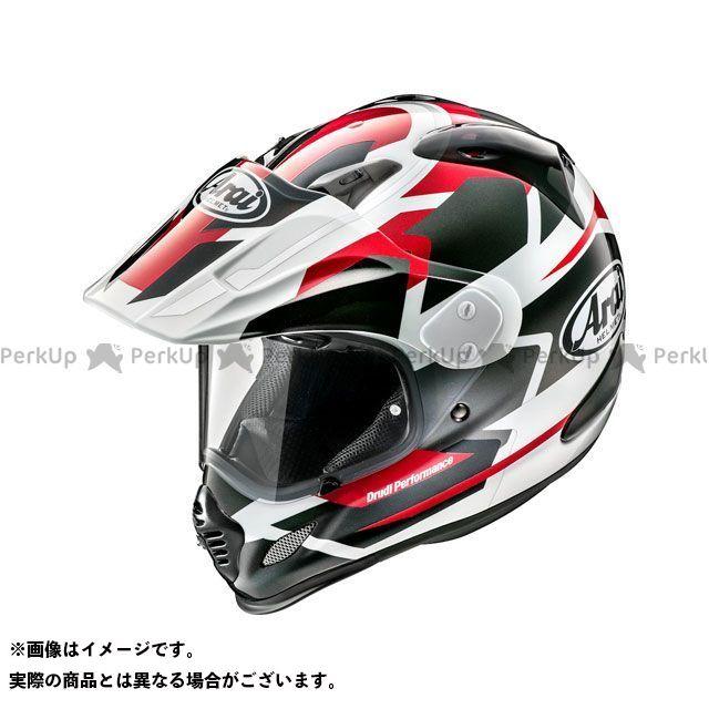 送料無料 アライ ヘルメット Arai オフロードヘルメット TOUR CROSS 3 DEPARTURE(ツアークロス3・デパーチャー) レッド 54cm