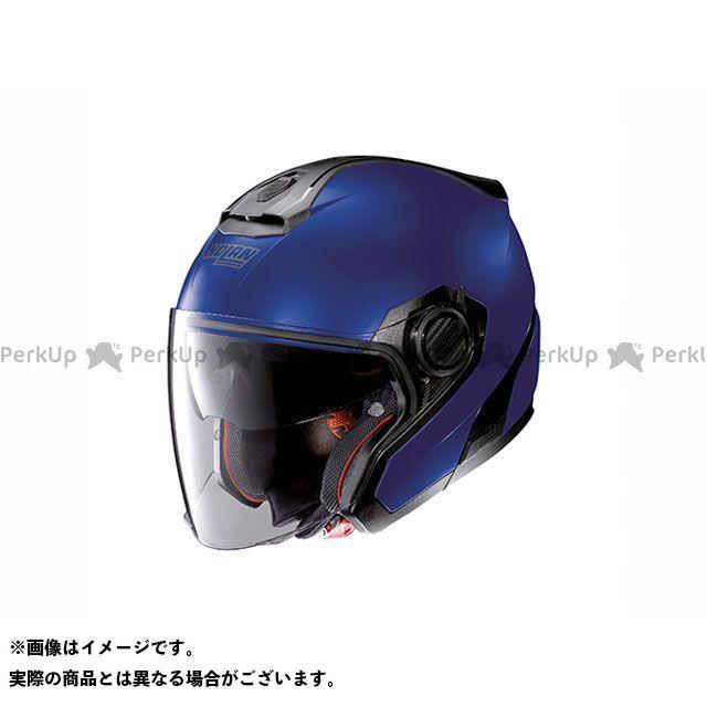 送料無料 NOLAN ノーラン ジェットヘルメット N405 ソリッド フラットケイマンブルー M