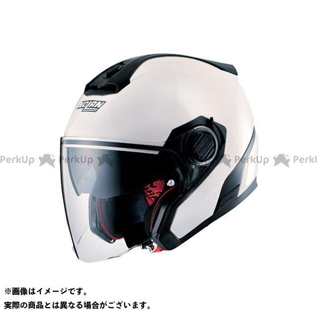 送料無料 NOLAN ノーラン ジェットヘルメット N405 ソリッド メタルホワイト M