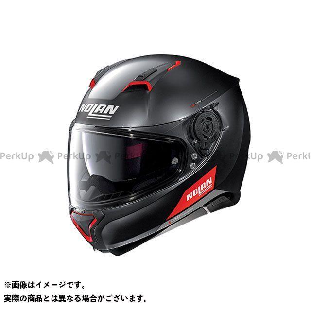 送料無料 NOLAN ノーラン フルフェイスヘルメット N87 エンブレマ フラットブラック レッド L