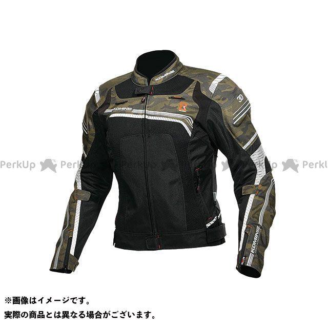 KOMINE ジャケット 2019年春夏モデル JK-130 Rスペックメッシュジャケット(カモ/ブラック) サイズ:S コミネ