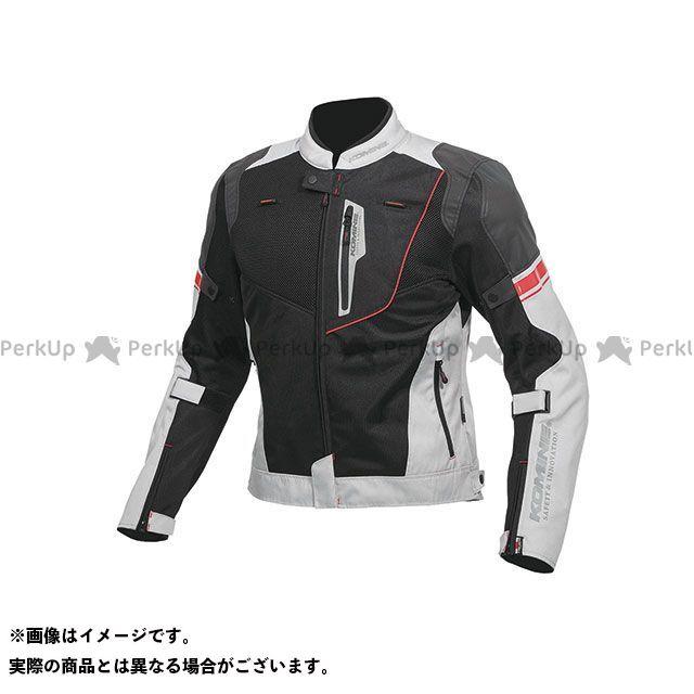 KOMINE ジャケット 2019年春夏モデル JK-131 リフレクトメッシュジャケット(ブラック/ライトグレー) サイズ:3XL コミネ
