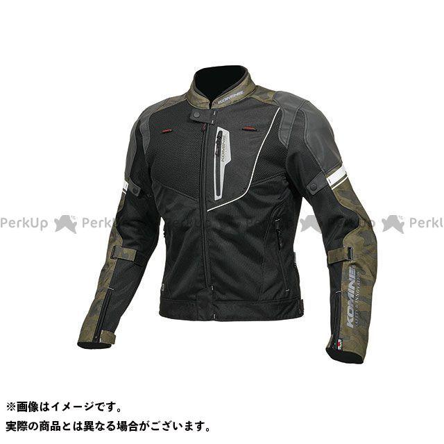 KOMINE ジャケット 2019年春夏モデル JK-131 リフレクトメッシュジャケット(カモ/ブラック) サイズ:XL コミネ