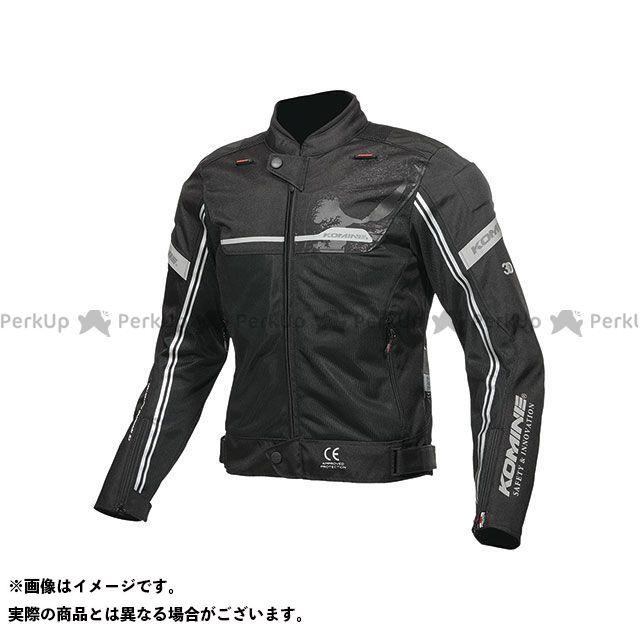 KOMINE ジャケット 2019年春夏モデル JK-133 エアストリームメッシュジャケット(ブラック) XL コミネ
