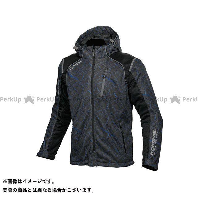 KOMINE カジュアルウェア JK-135 プロテクトフルメッシュパーカ(クラッシュブルー/ブラック) サイズ:M コミネ