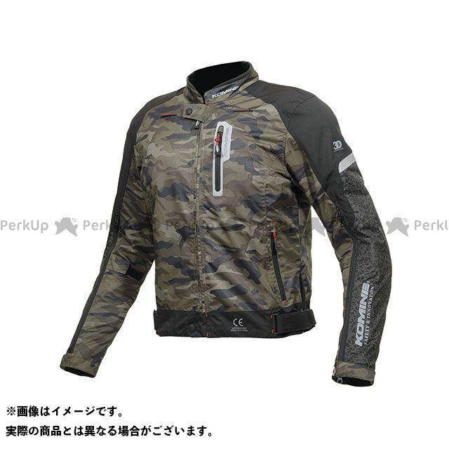 KOMINE ジャケット 2019年春夏モデル JK-136 エアフローシステムジャケット(カモ/ブラック) サイズ:M コミネ