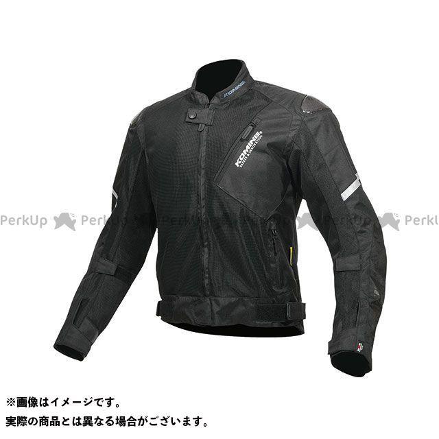 KOMINE ジャケット 2019年春夏モデル JK-137 カーボンプロテクトメッシュジャケット(ブラック) サイズ:XL コミネ